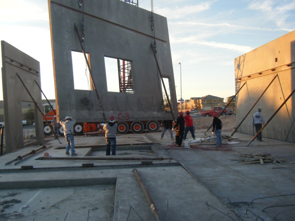 NDL Group, Inc. - Cell-Crete construction project