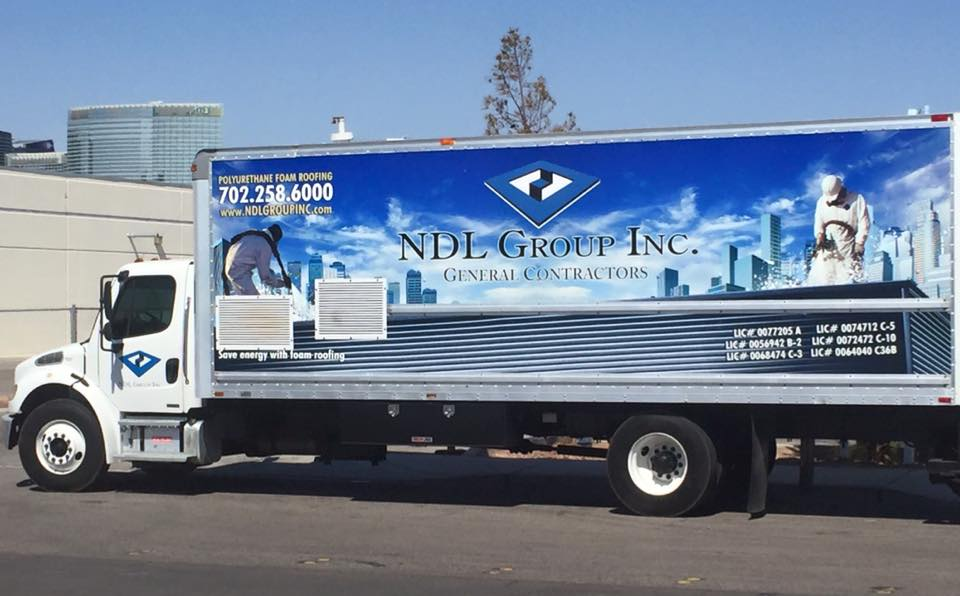 Las Vegas self-performing contractor NDL Group Inc. truck
